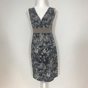 NWOT Grey Beige White MaxMara Dress sz 4